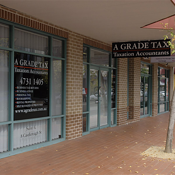 A Grade Tax Penrith - 2750